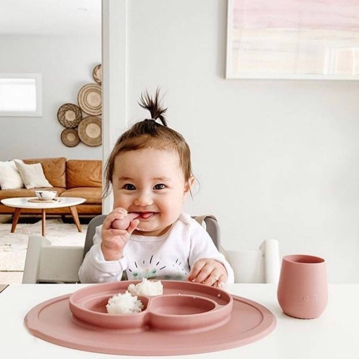 Ezpz - Babyskje i Silikon 2pk - Blush